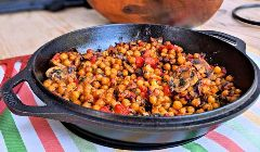 crispy roasted chickpeas