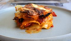 chunky vegetable lasagne