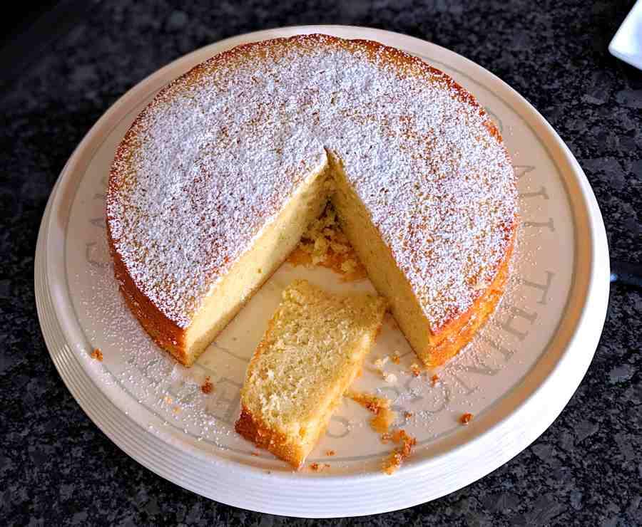 Lime And Condensed Milk Cake  Recipe  Cuisine Fiend