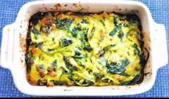 courgette spinach tian