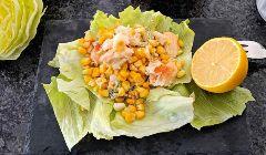 crab and sweetcorn salad