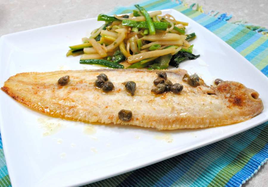 Grilled dover sole recipe cuisine fiend for How to cook sole fish