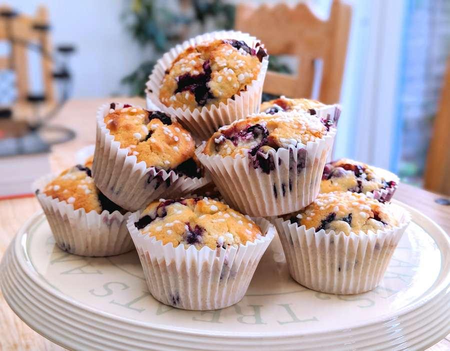 Fancy Blueberry Muffins | Recipe | Cuisine Fiend