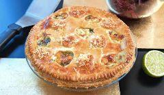 fennel taleggio pie