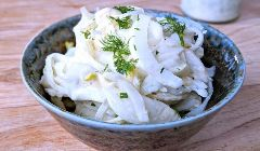 marinated fennel salad