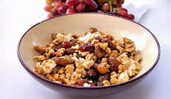 feta grapes and walnuts