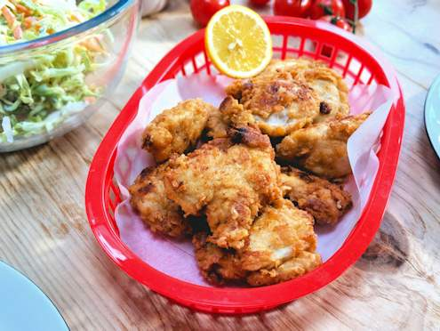 garlic fried chicken