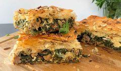 greek lamb pie