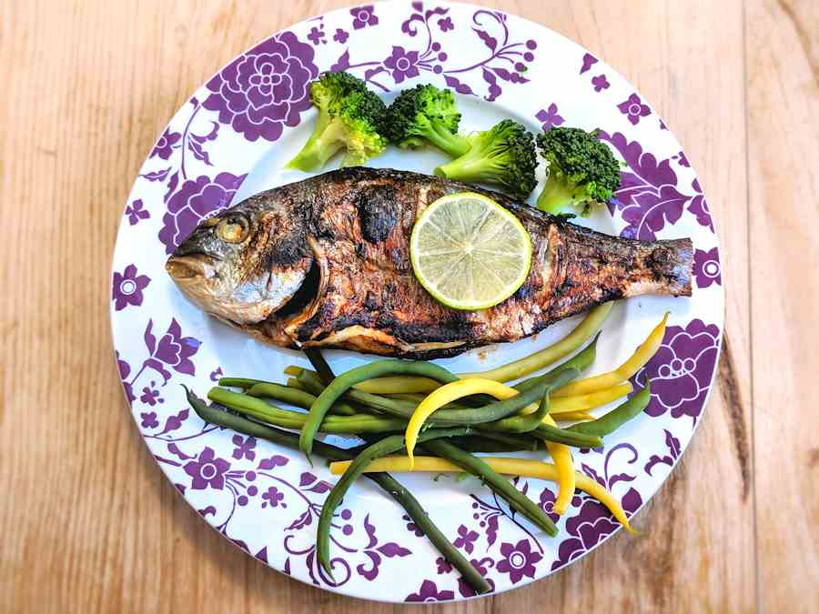 balsamic sea bream