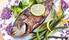 balsamic bream