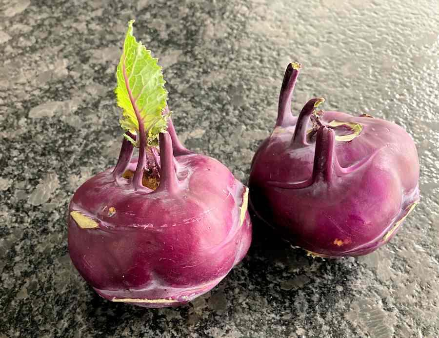 Kohlrabi Slaw Recipe Cuisine Fiend