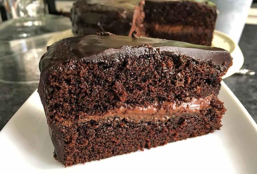 Tasty  Ingredient Chocolate Cake
