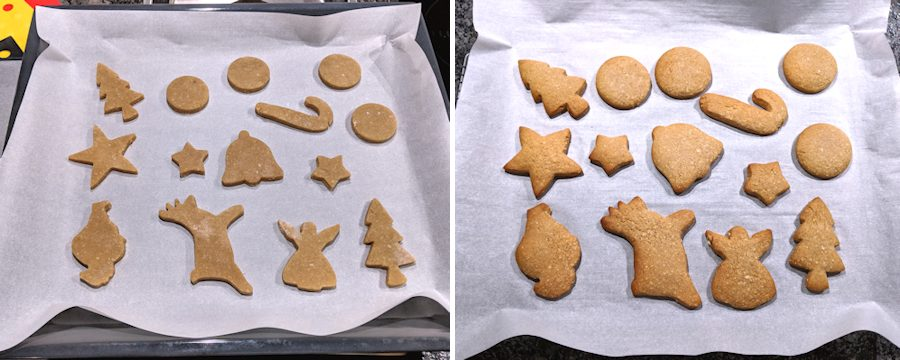 cutting out gingerbreads
