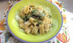 pasta with lemon and asparagus