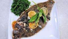 roasted lemon sole
