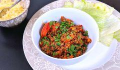 lentils and chorizo