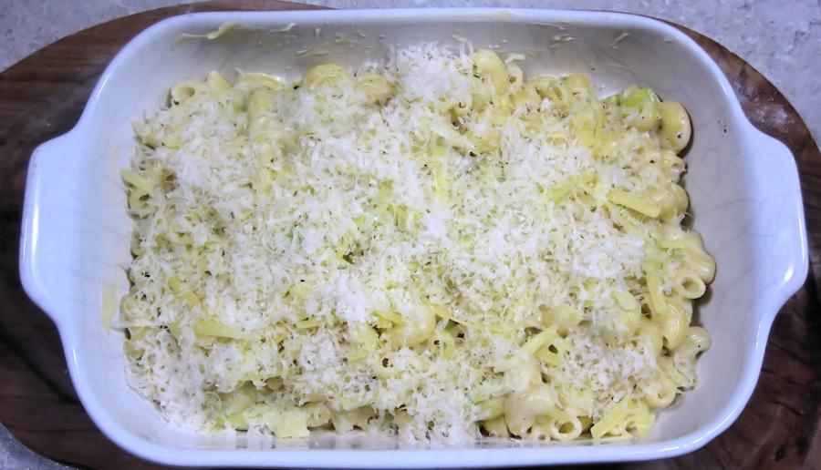 Mac n  cheese ready to bake