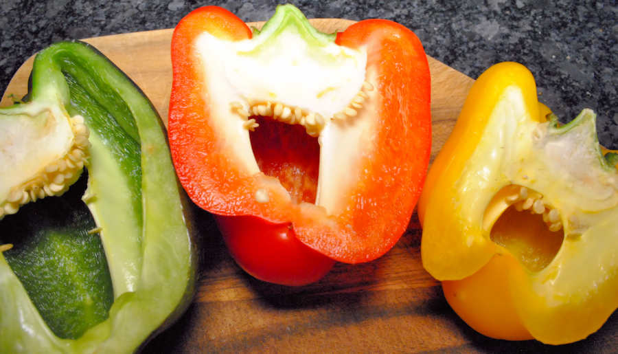 Laughing peppers