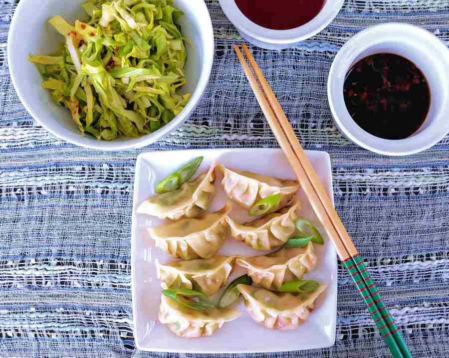 Prawn Gyoza Recipe Cuisine Fiend