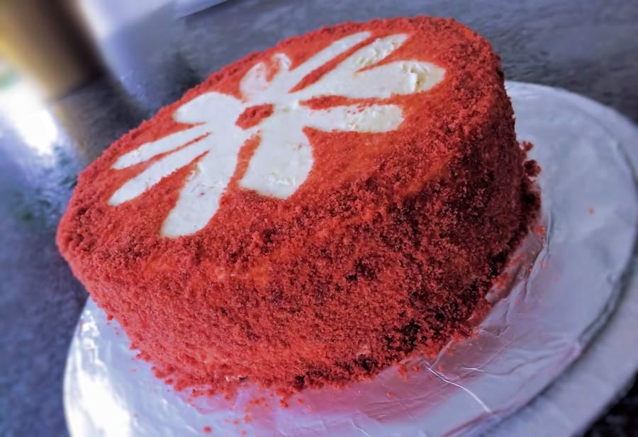 red velvet cake texture. Red Velvet Cake Texture