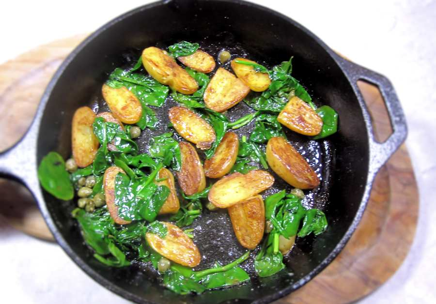 Sauteed new potatoes