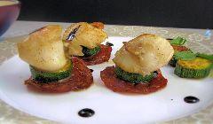 scallops with chorizo