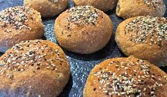 seeded brown rolls