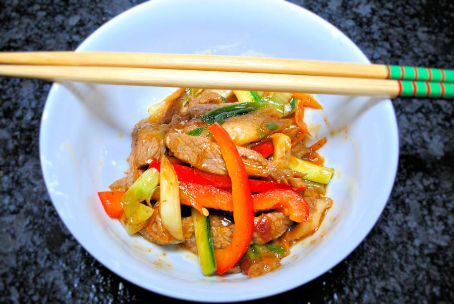 Sizzling beef recipe cuisine fiend the chinese have some truly weird and wonderful names for dishes some metaphorically refer to the origins of the foods like jadeite jade soup forumfinder Choice Image