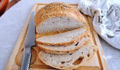 Sourdough no knead