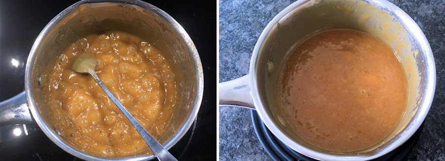 how to cook toffee sauce