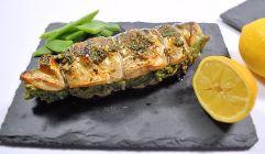 seaside stuffed mackerel