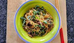 thai cinnamon noodles