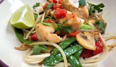 thai fish stir fry