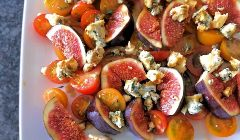 tomato and fig salad