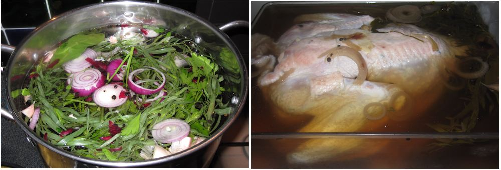 turkey in brine