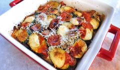 mixed veg parmigiana